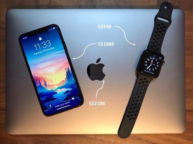 apple cost